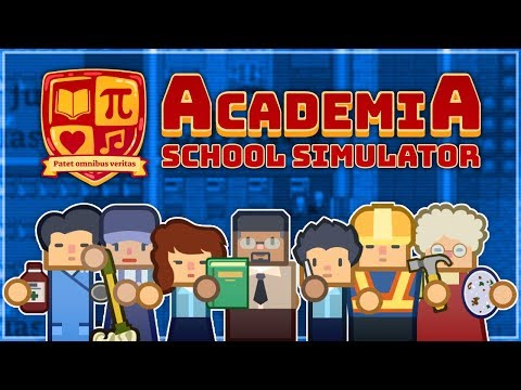 Academia: School Simulator | PART 3 | LIBRARY & COMPUTER ROOM