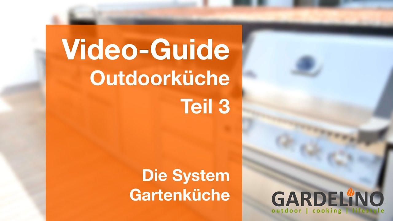 Outdoorküche bauen - Die System Gartenküche (Teil 3) - YouTube