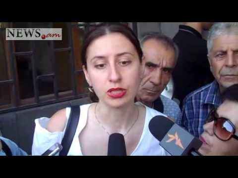 Armenian opposition action in front of prosecutor's office in Yerevan
