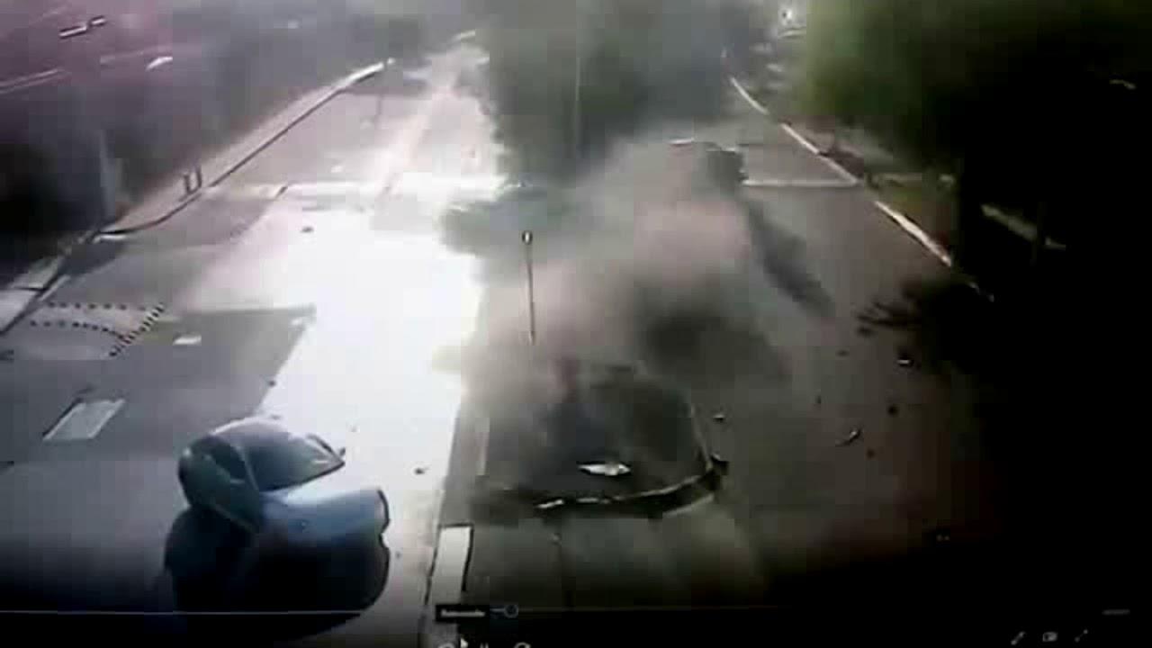 Imágenes fuertes; difunden video del accidente de Joao Maleck
