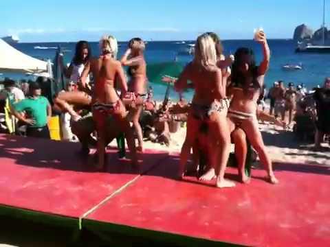 Hot Girls Dance Off At Mango Deck Cabo San Lucas Youtube