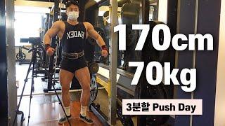 헬스 3년차의 벌크업 운동루틴 [가슴, 어깨, 삼두]