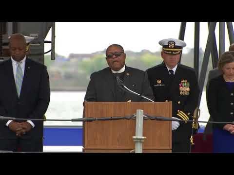 DFN:Commissioning of the USS Ralph Johnson, CHARLESTON, SC, UNITED STATES, 03.24.2018