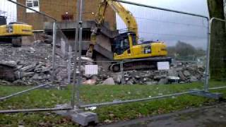 Blenheim shops being demolished
