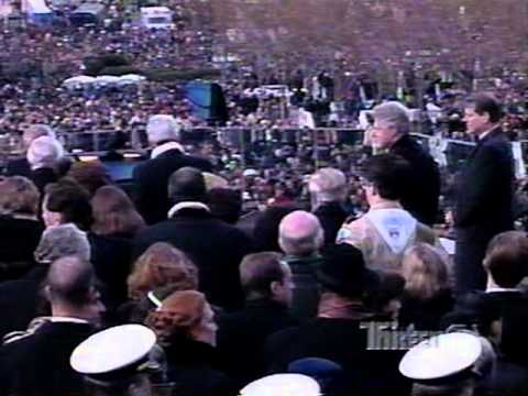 Bill Clinton 2nd Inauguration - January 20, 1997 - ABC Coverage Pt 2