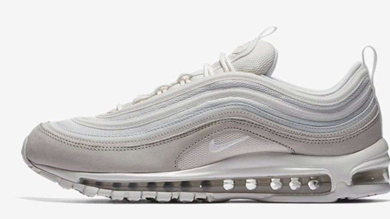 NIKE AIR MAX 97 PREMIUM LIGHT BONE FIRST LOOK NEW RELEASE DETAILED