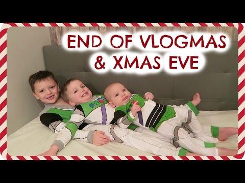 TOY STORAGE TOUR & END OF VLOGMAS (& XMAS EVE)