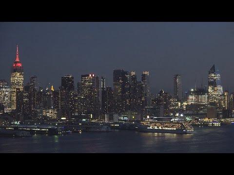 Seven Seas Mariner Departs New York (October 11, 2016)