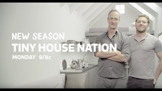 """Tiny House Nation """"lets Get Small"""" Image Spot"""