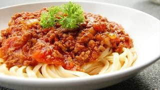 Resepi Spaghetti Bolognese ( Recipe...