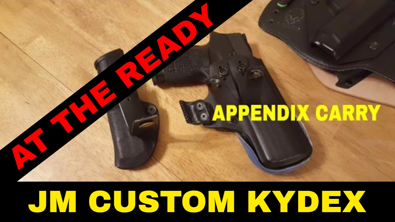 JM Custom Kydex Wing Claw: Comfortable Appendix Carry by At The Ready