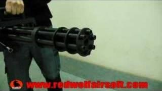 Vulcan M134 Minigun  - RedWolf Airsoft - RWTV
