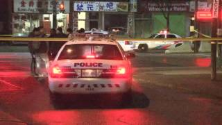 Video: Toronto police update fatal Chinatown shooting