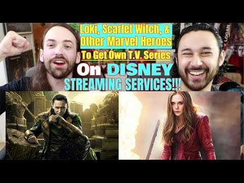 LOKI, SCARLET WITCH, & Other MARVEL HEROES - TV SHOWS on DISNEY STREAMING Service!!!
