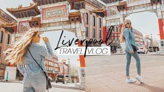 Gambar cover LIVERPOOL TRAVEL VLOG + What I Ate (Vegan) | Caitlin Bea