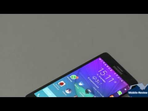 Видеообзор Samsung GALAXY Note Edge