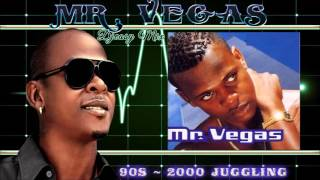 Mr. Vegas 90s -   Early 2000s Dancehall Juggling (Ziggi di) mix by  Djeasy