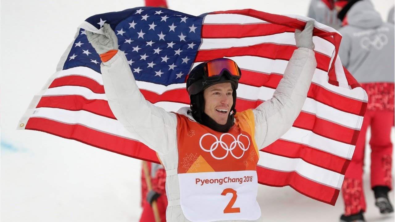 Shaun White Wins Gold Medal In Dramatic Finish #1