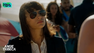 Angie Tribeca: Beach Blanket Sting-O [CLIP] | TBS