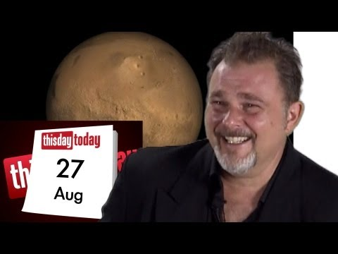 August 27th. Sexy astronomy: The pleasures of Mars.