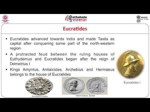 Indo - Greeks, Sakas and Kushanas