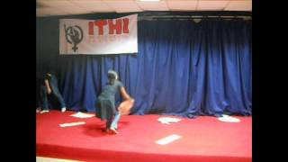 Mime Performance by the ITHI team during