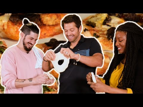 Supernatural Pizza Party with Misha Collins
