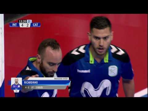 Cuartos de Final Inter Movistar Vs Catgas E Santa Coloma