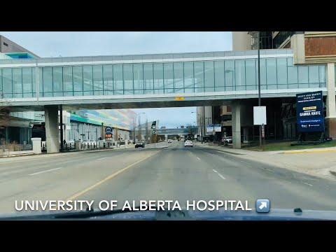 Edmonton - Driving around the University of Alberta (North Campus)