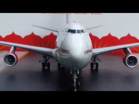 JC Wings 200 Air India B747-400 Review