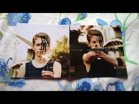 Unboxing Cd Fall Out Boy  American BeautyAmerican Psycho