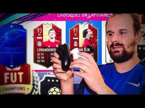 FIFA 19 - MES RÉCOMPENSES FUT CHAMPION + D1 RIVALS ET 25 PACKS UCL !!! thumbnail