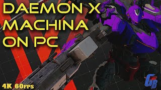 Daemon X Machina (PC) Quick Play [4K 60FPS]