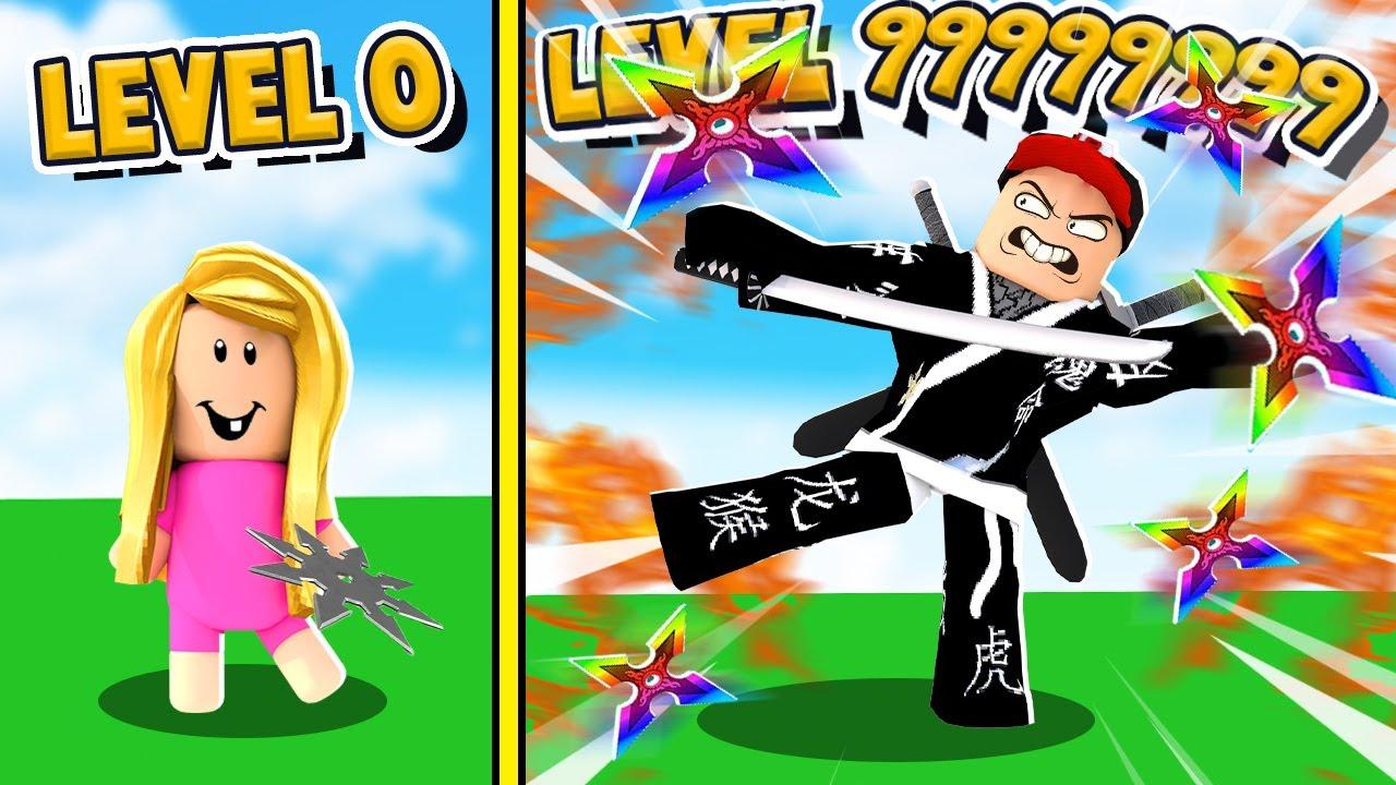 ZOSTAŁEM NINJA 999,999,999 POZIOMU W ROBLOX | Vito vs Bella