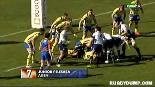 Tries in France 2011 2012 day 20 Top 10