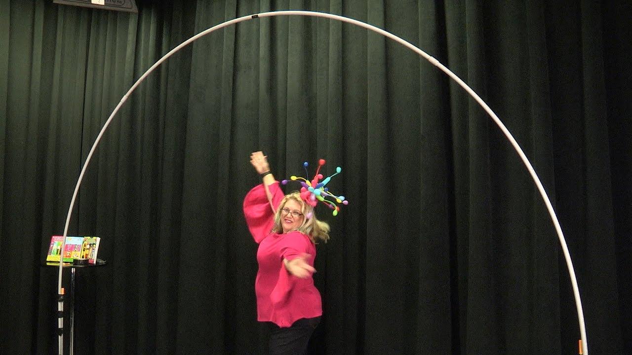 Balloon Arch Frame (No Helium) - DIY Tutorial - YouTube