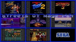 Streets of Rage 1 2 3  Trilogy for PS4 SEGA MEGA DRIVE CLASSICS