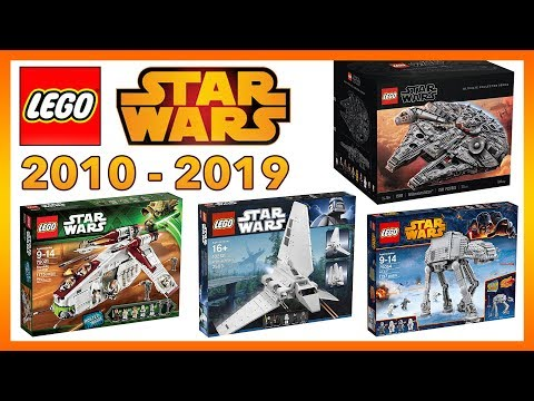 BEST LEGO Star Wars Sets Of The DECADE! (2010-2019)