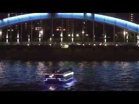 Cruise Boats on the Sumida River (隅田川), Tokyo