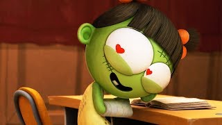 Funny Animated Cartoon | Spookiz | ❤️ Love At First Sight ❤️ | 스푸키즈 | Cartoon For Children