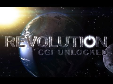 Revolution CGI Unlocked Earth Tutorial (1 of 4) Object and Texturing