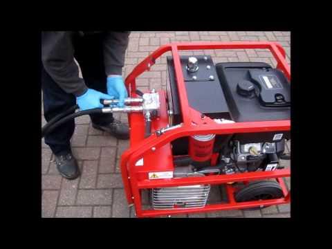 Major Diamond Supplies Hydraulic Power Pack 20 40 Litre