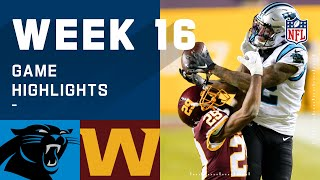 Panthers vs. Washington Football Team Week 16 Highlights