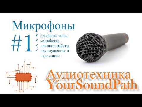 Аудиотехника - микрофоны. Часть 1. Типы, устройство и примеры применения