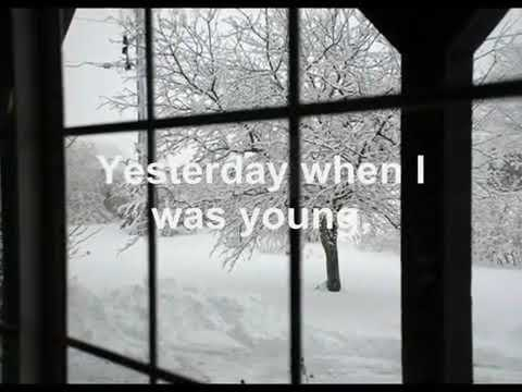 Yesterday When I Was Young - Andy Williams