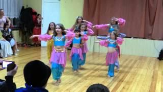 Восточные танцы для детей в Запорожье.Студия