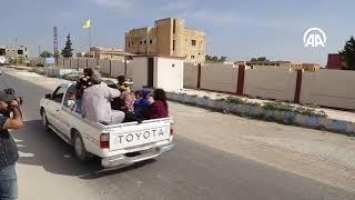 Сирийцы возвращаются в очищенный от террористов Талль-Абьяд