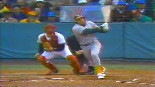 1988 ALCS game 1  Oakland Athletics at Boston Red Sox