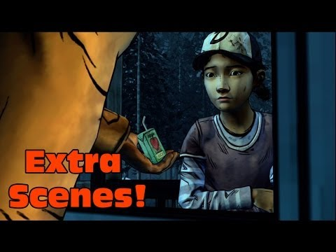 The Walking Dead Season Two EXTRA SCENES (Clementine INSULTS Rebecca, and More!) |