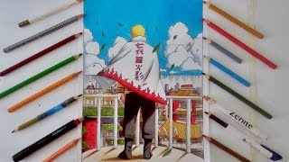 Speed Drawing - Naruto Uzumaki Hokage